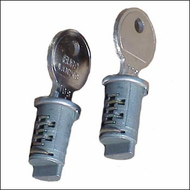 Rocky Mounts Locks 2-Pack  Locks with Keys (older style)