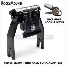RockyMounts DriveShaft SD and Rocky Mounts DriveShaft 15mm 20mm Thru-Axle Fork Adapters
