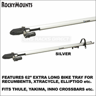 RockyMounts PitchFork Stretch Bike Rack for Recumbents, XtraCycle, ElliptiGo etc. - fits Inno, Yakima & Thule Crossbars