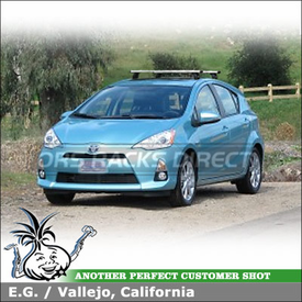 Roof Rack for 2012 Toyota Prius C - Complete Information