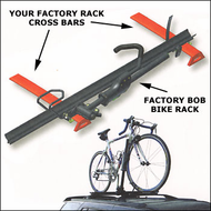 Sportworks Bike Racks - Sportworks Factory Bob Bike Rack for Factory Roof Racks