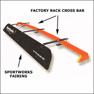 Sportworks Car Racks - Sportworks Airflow Factory Roof Rack Fairing