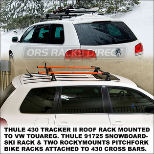 Thule 430 Tracker II Complete Roof Racks | Thule Car Racks