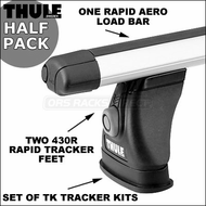 Thule 430R Rapid Tracker II Half Pack Roof Rack System | Thule Car Racks & Truck Racks