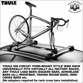 Thule 526 Circuit Fork Mounting Universal Bike Rack Now Available