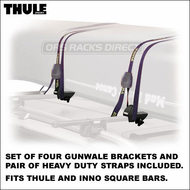 Thule 579XT Canoe Carrier Rack with Straps | Thule Canoe Racks