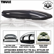 Thule 689USBXT Spirit 1600 Roof Box (Black) - Ultra Low Profile Cartop Cargo Carrier