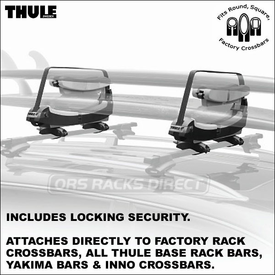 Thule 809 Double-Decker Surfboard Rack