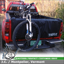 Thule 823 Gate Mate TailGate Bike Pad for 2007 GMC Canyon Pickup Truck