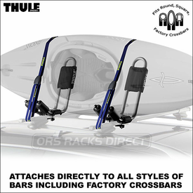 Thule 834 Hull-a-Port Kayak Rack Now Available