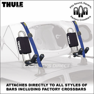 Thule 835XTR Hull-a-Port Kayak Rack -  Universal Thule Kayak Rack Fits All Roof Racks
