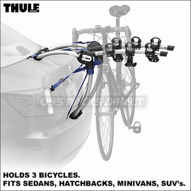 Thule 9007 GateWay and Thule 9006 GateWay Trunk Bike Racks
