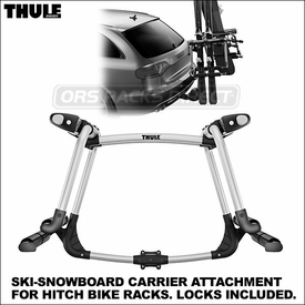 Thule 9033 Tram Hitch Snowboards-Skis Rack Now Shipping
