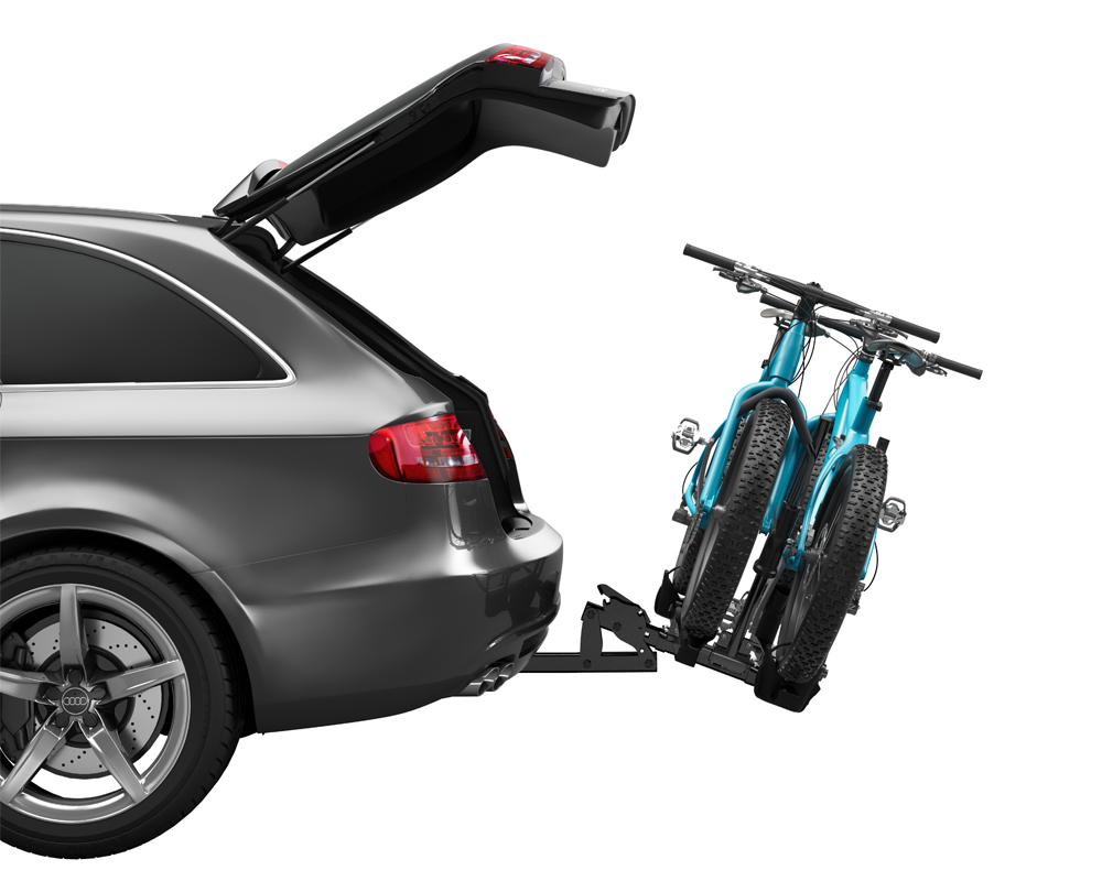 Thule 9045 T2 Classic Hitch Mounted Platform Bike Rack For