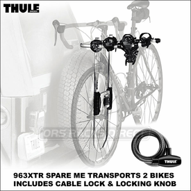 Thule 963XTR Spare Me Rear Spare Tire Bike Rack