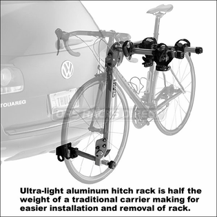 "Thule 970XT Helium Hitch Bike Rack - Lightweight Aluminum 2 Bike Hitch Rack for 2"" & 1.25"" Hitches"