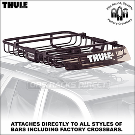 Thule Basket Racks - Thule 690XT MOAB Cargo Roof Basket Rack