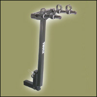 Thule Bike Hitch  Rack - Thule 946 Hitching Post 2 Bike Carrier Hitch Mounted Bike Rack for 2in. Hitch Receivers