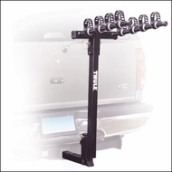Thule Car Hitch Bike Racks - Thule 935 Hitching Post Pro 4 Bike Rear Hitch Mounted Bike Racks for 1 1/4in. Hitch Receivers