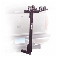 Thule Car Hitch Bike Racks - Thule 937 Hitching Post Pro 2 Bike Rear Hitch Mounted Bike Racks for 1 1/4 in. Hitch Receivers
