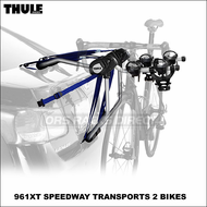 Thule Car Trunk Bike Racks - Thule 961XT Speedway 2 Bicycle Trunk Mount Bike Rack