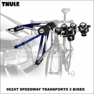 Thule Car Trunk Bike Racks - Thule 962XT Speedway 3 Bicycle Trunk Bike Rack