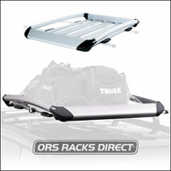 Thule Cargo Basket Racks - Thule 696 Xpedition Roof Basket Rack (Large)
