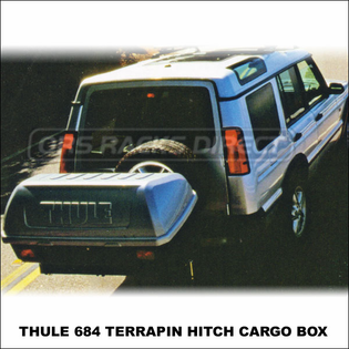 Thule Cargo Boxes & Luggage Carriers  - Thule 684 Terrapin Hitch Mount Cargo Box for 2 inch Receiver Hitches