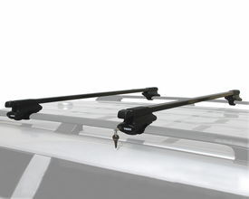 Thule Complete Crossroads Railing Roof Rack Kit with Locks 45050-45058