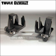 Thule DeWalt Pro Series Work Rack Accessories - 2010 Locking Thule DeWalt 349 Van / Truck Ladder Rack