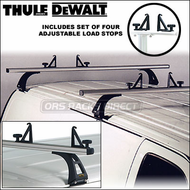 Thule DeWalt Van Racks - 2011 Pro Series Thule DeWalt 332 Van Rack with Two Bars