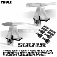 Thule Fit Kit 142 Clips for 400XT / 400XTR Aero - Audi Roof Racks Component