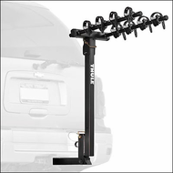 Thule Hitch Bike Rack - Thule 934XT Hitching Post Pro 4 Bicycle Rear Hitch Mount Bike Rack for 2 inch Receivers
