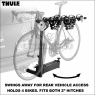 Thule Hitch Bike Racks - 2011 Thule 964 Revolver 4 Bike Hitch Rack for 2in. Hitch Receivers