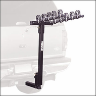 Thule Hitch Bike Racks - Thule 951 Hitching Post Pro 5 Bike Hitch Mounted Bike Rack for 2in. Hitch Receivers