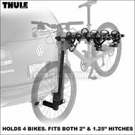 "Thule Hitch Bike Racks - Thule 954 Ridgeline Rear Hitch Mount Bike Rack for 1.25"" & 2"" Hitches"