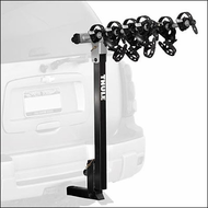Thule Hitch Bike Racks - Thule 996XT Expressway 4 Bicycle Rear Hitch Mount Bike Rack for 2 inch Receivers