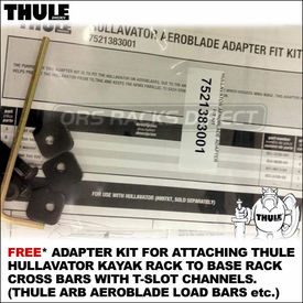 Thule Hullavator AeroBlade Load Bars Adapter Kit Now Available For Free
