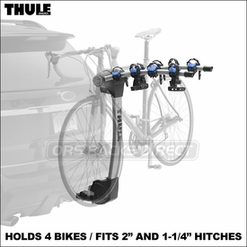 Thule Racks 9026 Apex 5 and 9025 Apex 4 Hitch Bike Racks