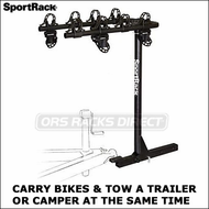 "(Thule Racks) SportRack A30404TW200 Escape Tow Capable Hitch Mount 4 Bike Rack for 2"" Hitches"