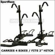 "(Thule Racks) SportRack A30902 4EZ Hitch Platform 4 Bike Rack for 2"" Hitches"