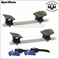 (Thule Racks) SportRack ABR512 Kayak Saddles Kayak Rack