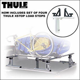 Thule Truck Racks - Thule 421 Xsporter Truck Rack for Compact Pickup Truck Beds