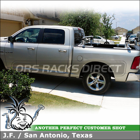 Thule XSporter truck rack-ladder rack on 2010 Dodge Ram 1500 Crew Cab