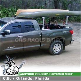 Toyota Tundra Truck Rack using Thule 422XT Xsporter & XK2 Adapter Kit