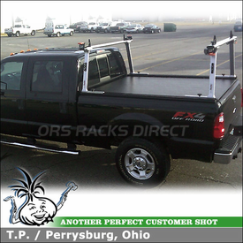 TracRac G2 Truck Rack and Tonneau Cover for 2010 Ford F-250 Super Duty Pickup Truckbed