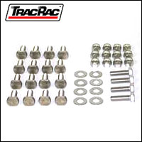 TracRac Overhead Rack Fastener Bag - HD-80915 - Trac Rac Truck Rack Spare Part / Replacement Part