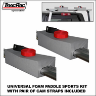 TracRac Universal Foam Paddle Sports Kit - 28600 - SUP, Surfboard, Canoe & Kayak Foam Blocks for Trac Rac Truck Racks