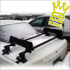 Trunk Mounted Ski Rack - Another Rack King of The Road!