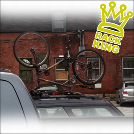 Upside Down Bike On Roof Rack - Another Rack King of The Road!